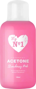 MyNo1 Aceton Strawberry Pink 150mll